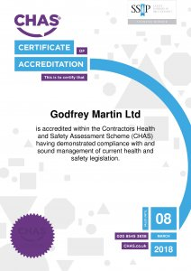 CHAS Certificate 2017