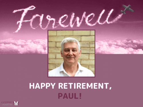 HAPPY RETIREMENT, PAUL!