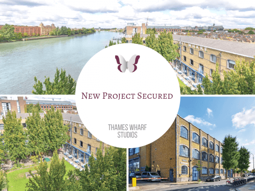 NEW PROJECT: THAMES WHARF STUDIOS