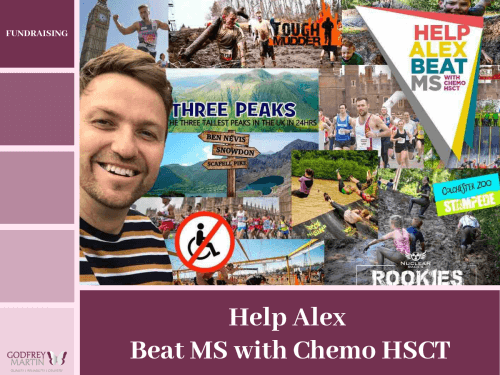 HELP ALEX BEATS MS WITH CHEMO HSCT