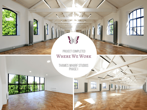 THAMES WHARF STUDIOS PHASE I COMPLETED