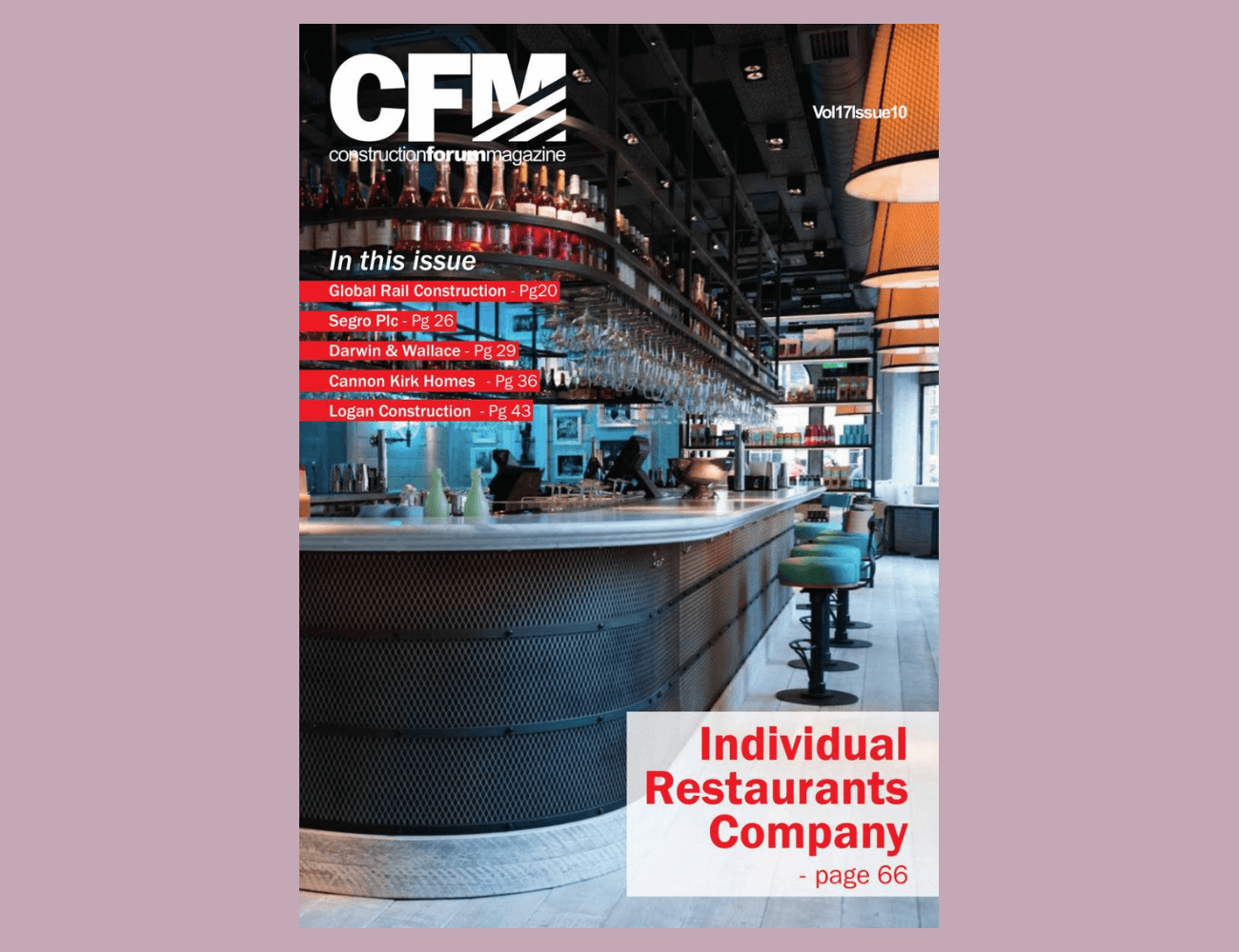 CONSTRUCTION FORUM MAGAZINE ISSUE 10