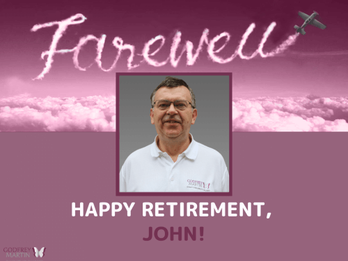 HAPPY RETIREMENT, JOHN!
