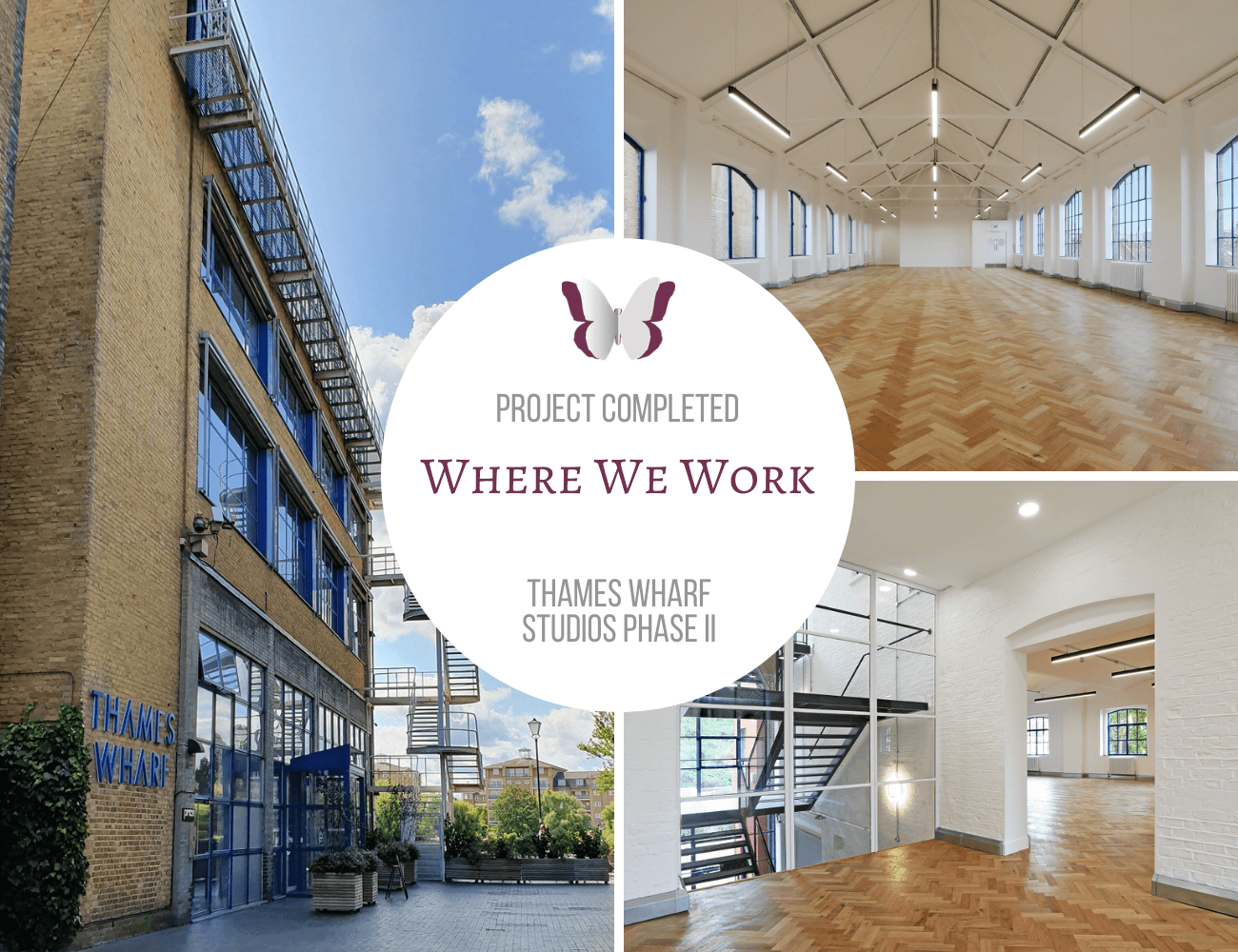 PROJECT COMPLETED: THAMES WHARF STUDIOS