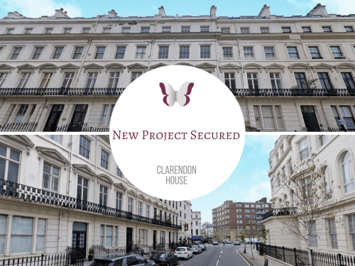 NEW PROJECT: CLARENDON HOUSE