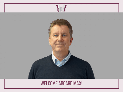 WELCOME ABOARD MAX!