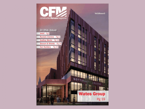 CONSTRUCTION FORUM MAGAZINE VOL 18 ISSUE 3