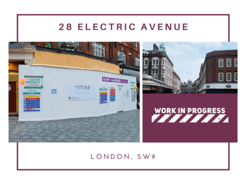PROJECT UPDATE: ELECTRIC AVENUE