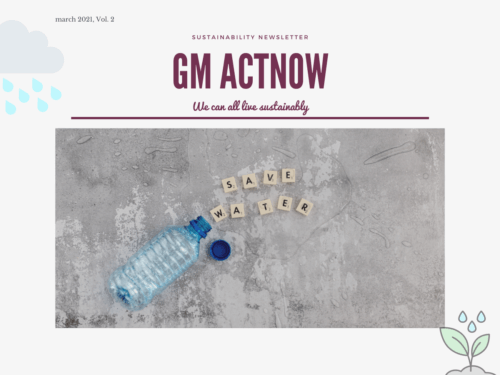 GM ACTNOW SUSTAINABILITY NEWSLETTER MARCH 2021