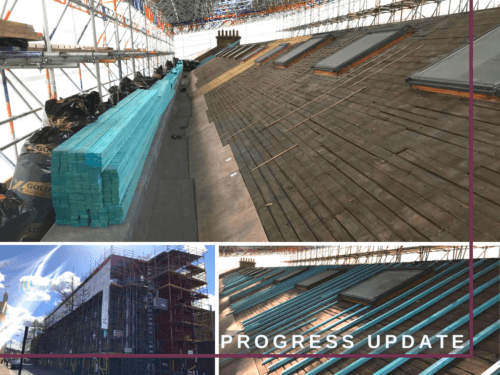 EXTERNAL REFURBISHMENT PROJECT IN LONDON – ROOF REPLACEMENT