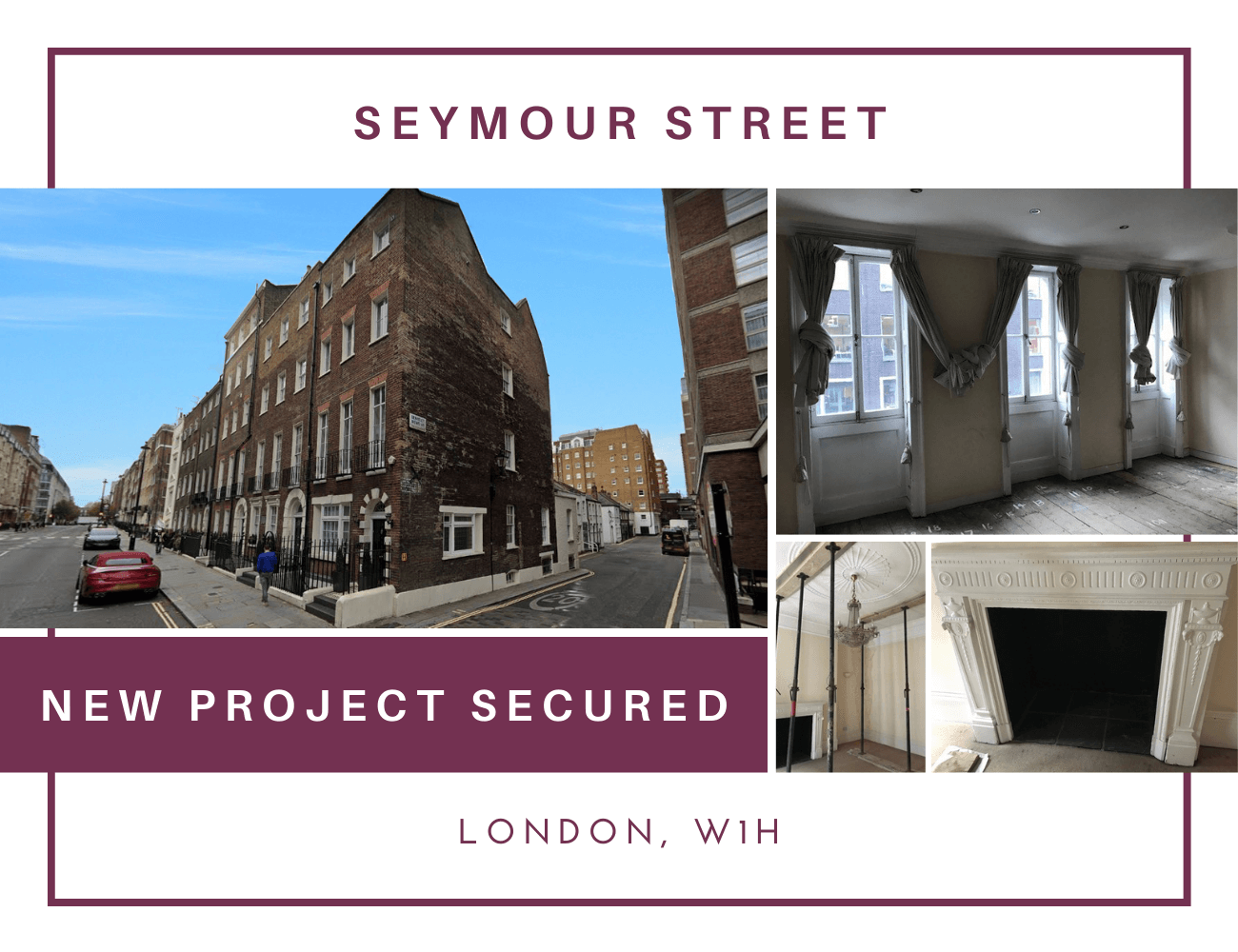 NEW INTERNAL RESIDENTIAL REFURBISHMENT PROJECT SECURED