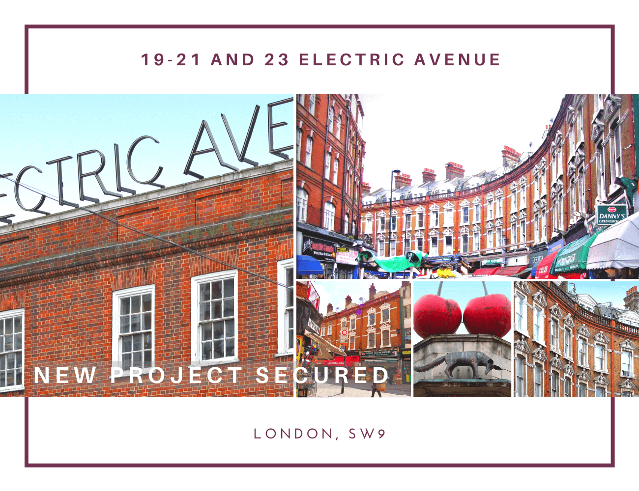 NEW RETAIL AND RESIDENTIAL REFURBISHMENT PROJECT IN LONDON