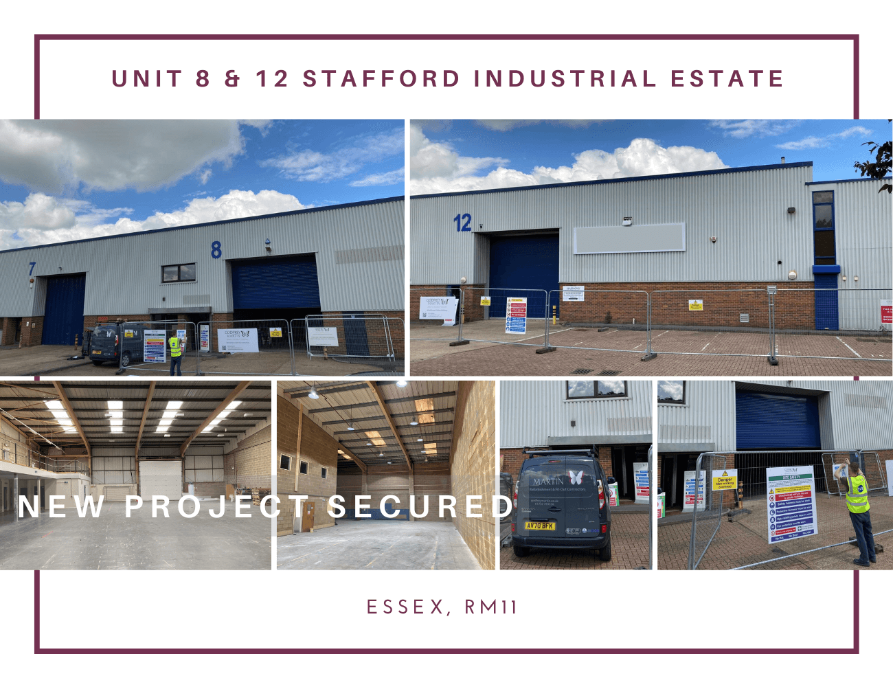 NEW INDUSTRIAL REFURBISHMENT PROJECT SECURED